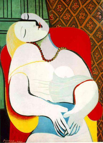 """Picasso """"Il sogno"""", 1932"""