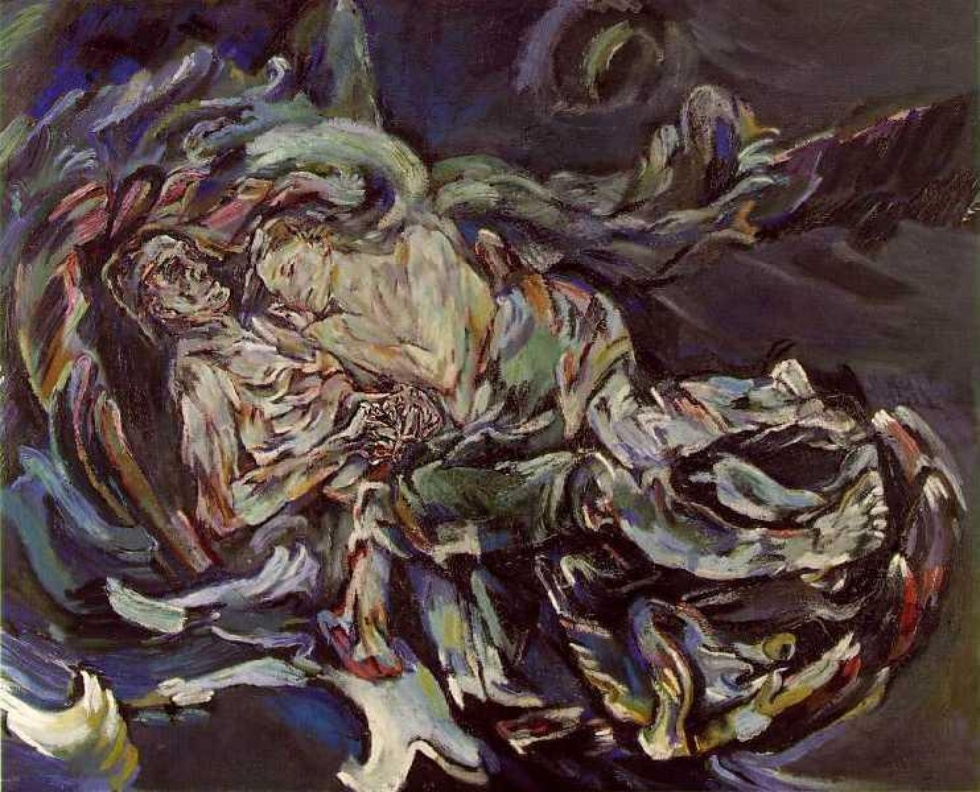 Oscar Kokoschka the bride of the wind